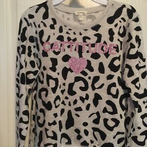 Girls Cattitude sweater