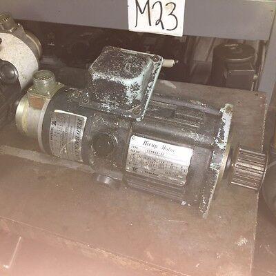 Yaskawa Hicup Servo Motor UGHMED-03GG10F, W/ TFUE-15ZD7 Encoder, Used, WARRANTY