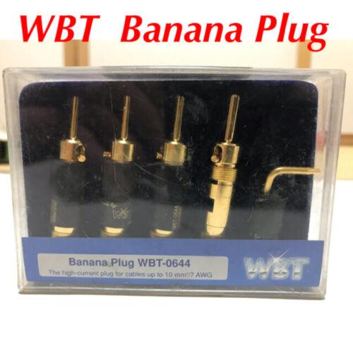 WBT Banana Plug WBT-0644 Unused custodial goods