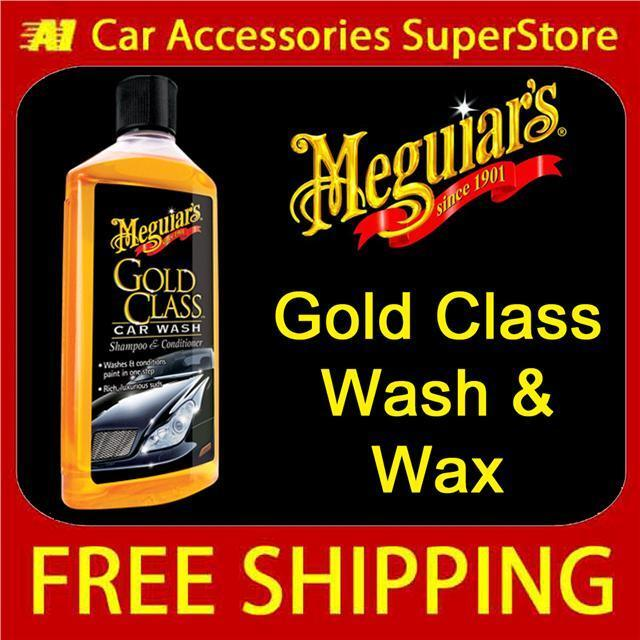 Meguiars Gold Class Shampoo and Conditioner G7116 Car Wash