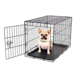 Small dog crate used