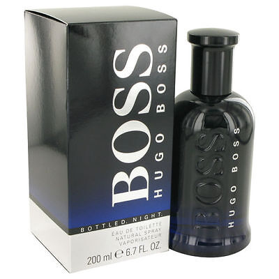 Parfum HUGO BOSS BOSS BOTTLED NIGHT EAU DE TOILETTE 200ML NEUF ET SOUS BLISTER