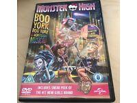 Monster High DVD BOO York