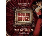 2x Secret Cinema - Moulin Rouge - Fri 17th Feb