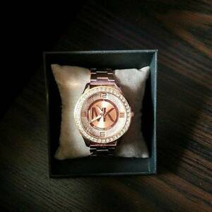 Michael Kors womens rose gold watch Bexley Rockdale Area Preview
