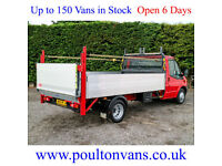 2013 (13) FORD TRANSIT T350 DRW 12'3 LWB HIGH SIDED DROPSIDE PICK UP,NOT TIPPER