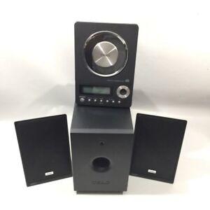 Teac CD-X10i Hi-Fi System Ultra Thin CD AUX ipod Dock -