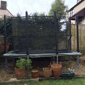 Supertramp XR Series garden trampoline