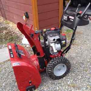 "Craftsman 27"" snowblower"