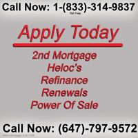 We Specialize in 2nd 3rd Construction & Private Mortgages