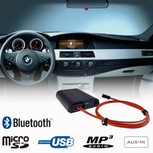 BMW 5 Series E60 E61 Bluetooth Adapter Interface USB SD A2DP Handsfree 2003-2010