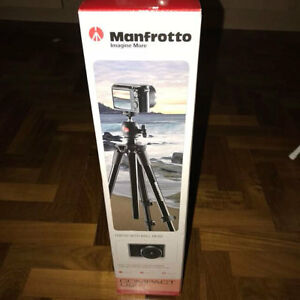 Manfrotto Compact Light Aluminum Tripod with ball head