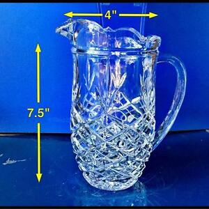 PITCHER. CRYSTAL. West Island Greater Montréal image 1