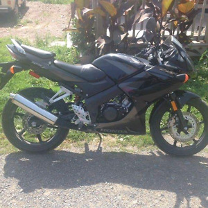 08 honda cbr 125r trade for a bigger bike