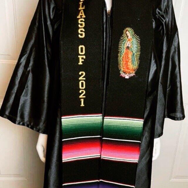 Graduation Stole Class 2021  - Rebozo - Virgen Bordada