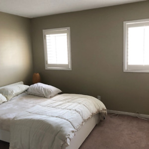 Furnished Room Available for Rent in a House