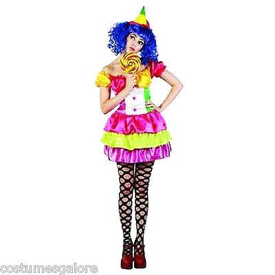 SW Ladies Costume Fancy Dress Cute Candy Girl Joker Clown Pop Star 8 10 12 14](Jokers Girlfriend Costume)