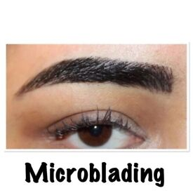Gumtree offer: microblading £80, semi permanent makeup eyebrows £90, 3d individual mink eyelashes