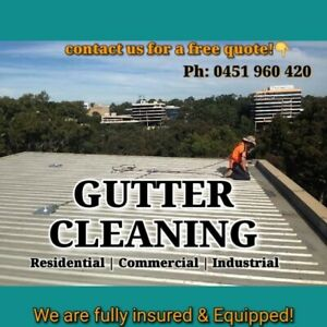 GUTTER CLEANING...
