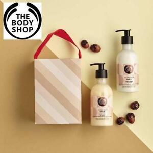 NEW 2PC BODY SHOP HAND DUO GIFT SET 227118522 SHEA Hand Wash 250ml AND Hand Lotion 250ml