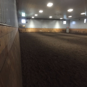 Indoor arena and horse board sher pk