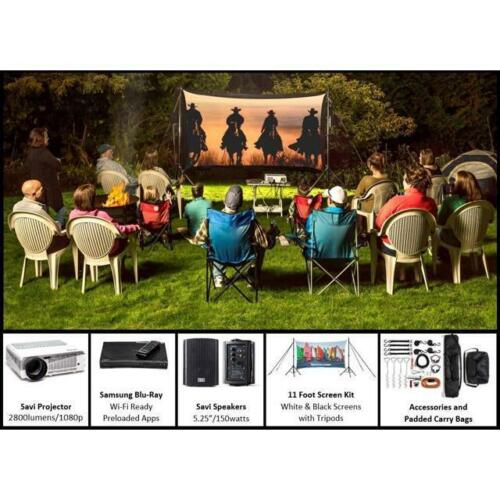Backyard Theater Kit | Recreation Series System | 11' Front