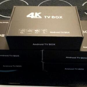 Brand New Sealed Android Boxes Fully loaded With Kodi!