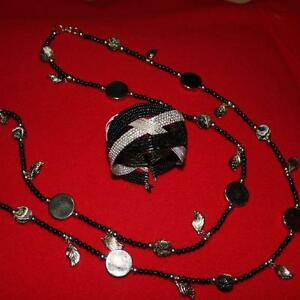 CUFF BRACELET AND LONG NECKLACE London Ontario image 1