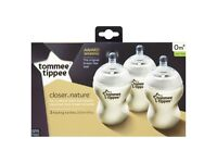 Brand new! Tommee Tippee Closer To Nature 260ml Bottles