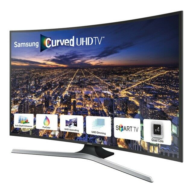Samsung 40 inch 4k UHD Curved Smart LED TV, Freeview HD, WiFi + Netflix,  Youtube, Apps, not 42 43 | in Bradford, West Yorkshire | Gumtree
