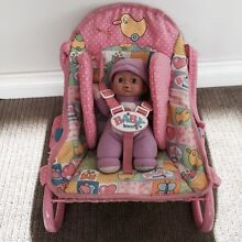 Baby Born - rocker/ carrier for little ones + doll Madeley Wanneroo Area Preview