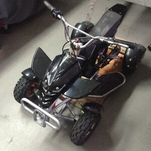 49cc/50cc Pocket Quad ATV