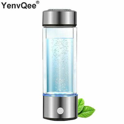 Botella de generador de hidrógeno de agua Botella Ionizador rico...