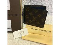 """Brand New Original Louis Vuitton Leather Men's GASPAR WALLET """"M93801"""""""