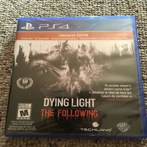 Dying Light: The Following Enhanced Edition PS4 BRAND NEW SEALED