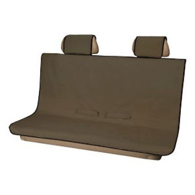 2008-2019 Chevrolet SUV & Trucks Brown Pet Friendly Protective Rear Seat Cover