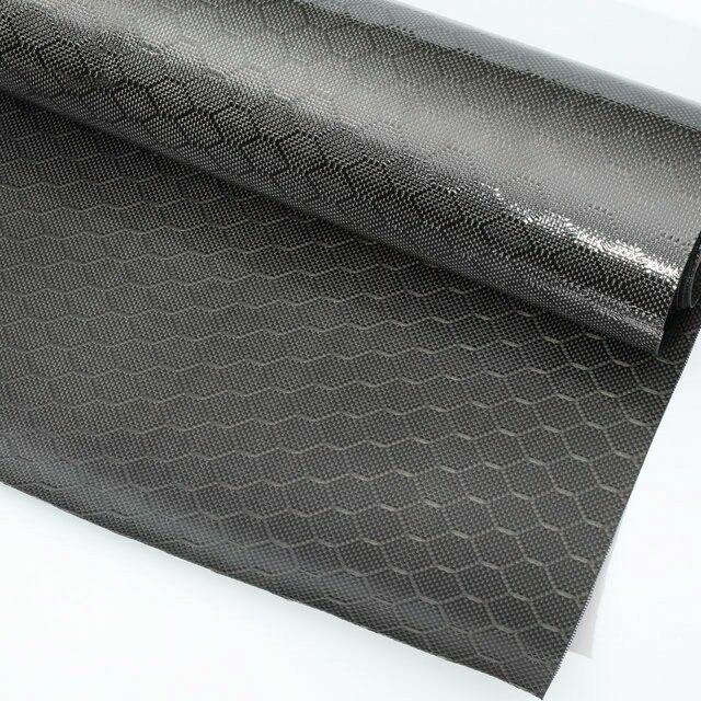 "3K 240gsm 2x2 Football pattern Real Carbon Fiber Fabric Cloth 40"" width * 1yd"