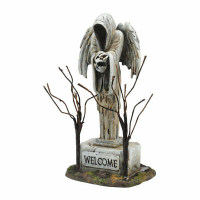 Department 56 Halloween Village ANGEL OF DEATH Accessory 4054256 DEALER STOCK (Halloween Village Collectibles)