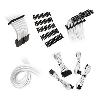 Extension Cable Kit - Bitfenix Alchemy 2.0 Extension Cable Kit - Black/ White (BFX-ALC-EXTKW-RP)