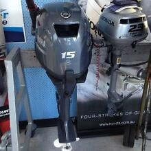 Yamaha F15 4 Stroke Outboard Long Shaft 15hp 1 hour only 2013 Urangan Fraser Coast Preview