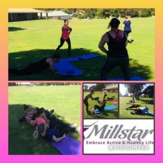 OUTDOOR GROUP FITNESS AT BROWN PARK SWAN VIEW