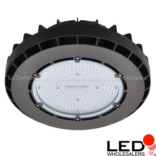 200W LED Round Pendant High Bay Light Fixture, Daylight 5000K