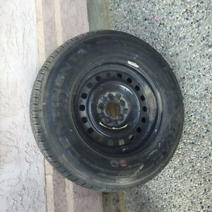 "Continental M+S P235/70R 16   5 X 4.5"" One Only"