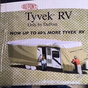 Tyvek RV storage cover by Dupont up to 20'