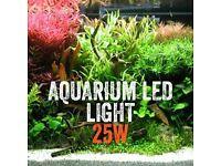 25W LED Lighting 60cm - 80cm Aquariums