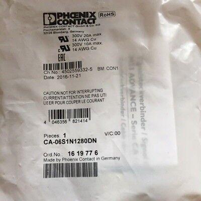 3 Stück Phoenix Contact Kabelsteckverbinder, CA-06S1N1280DN