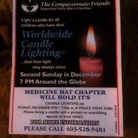 Candle Lighting - Compassionate Friends