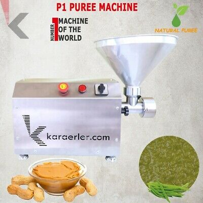 Nut Butter Puree Machine Karaerler Quality Full Butter Grainy Butter
