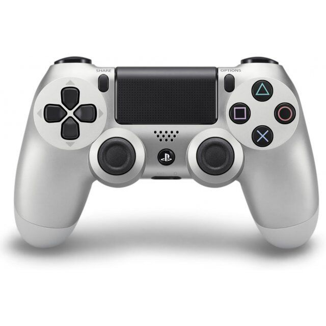 Sony Dual Shock 4 Wireless Game Pad for Sony PlayStation 4 Silver 3001541