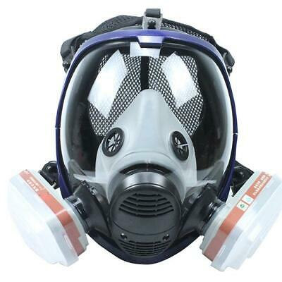 7 In 1 Facepiece Respirator Painting Spraying 6800 Full Face Gas Mask
